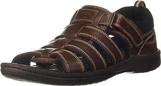 Scholl Men's Steven Fm Sandal Leather Outdoor