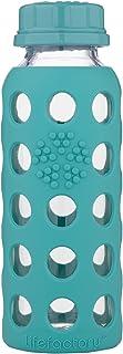 Lifefactory–Botella con soporte de tapa, cristal, 9oz-p verde Kale