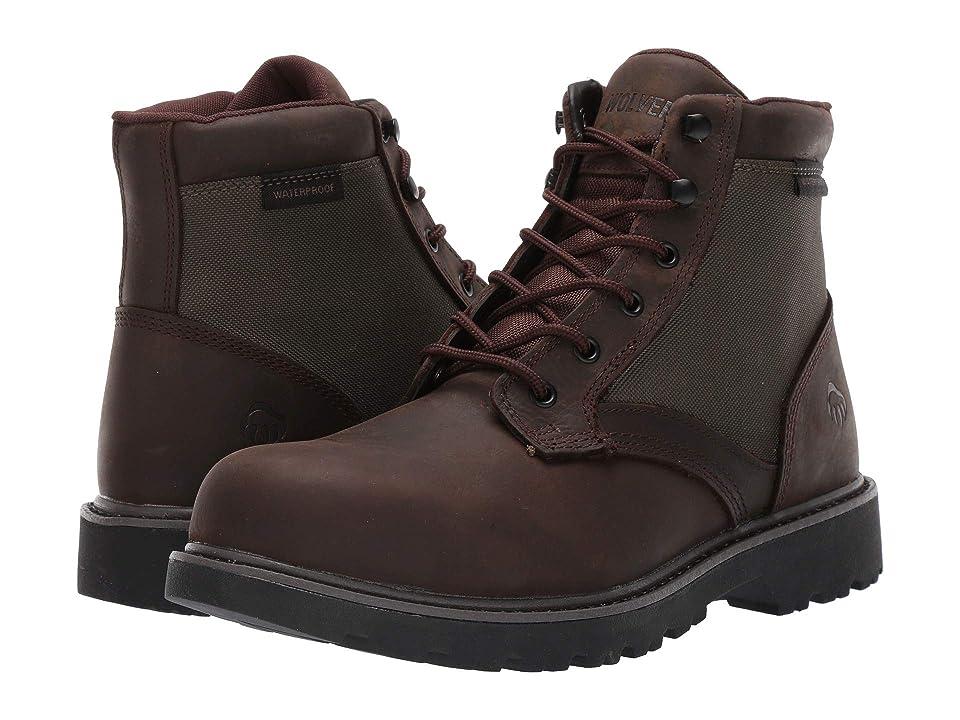 Wolverine Heritage Field Boot Soft Toe (Dark Brown/Green) Men