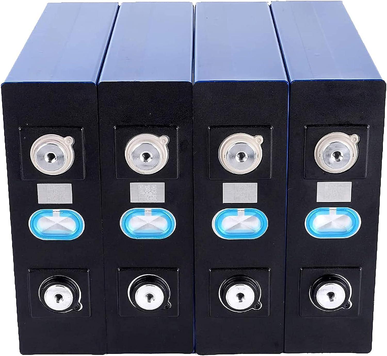 VARADOMO Nuevo 4 / 8PCS LIFEPO4 3.2V 200AH New Lifepo4 Batería Recargable de la batería 3.2v200Ah, Adecuada para 12V200AH 24V 200AH Solar US Europe,4PCS