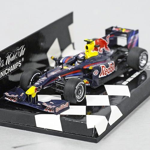 Sebastian Vettel rot Bull RB5 Formel 1 2009 1 43 Minichamps