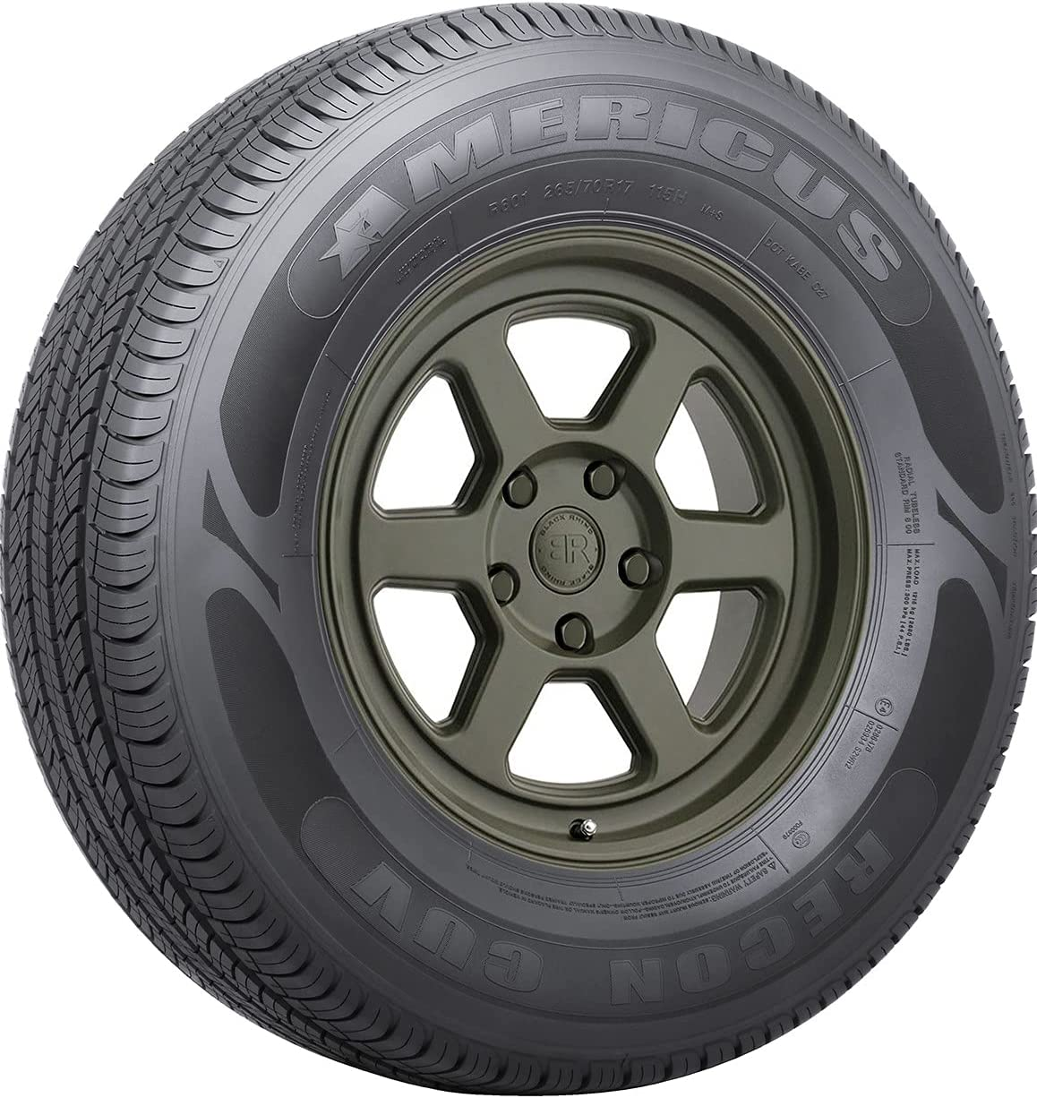 Americus r601 P245 65R17 all-season Dealing full price OFFicial reduction tire 111H bsw