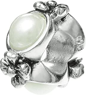 Best pandora mother of pearl flower ring Reviews