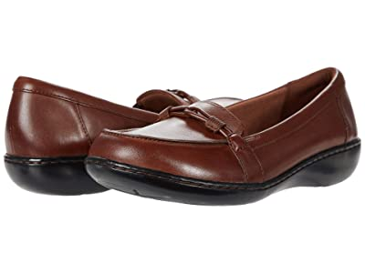 Clarks Ashland Ballot (Mahogany Leather) Women