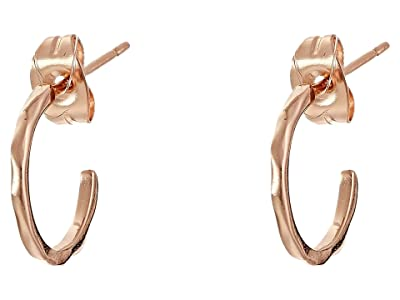 gorjana Taner Mini Hoops (Rose Gold) Earring