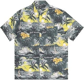 Huf Venice Ss Woven Short Sleeve T-Shirt