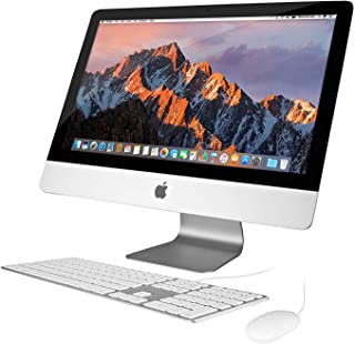 Apple iMac 21.5in 2.7GHz Core i5 (ME086LL/A) All In One Desktop, 8GB Memory, 256GB Solid State Drive, MacOS 10.12 Sierra (Renewed)