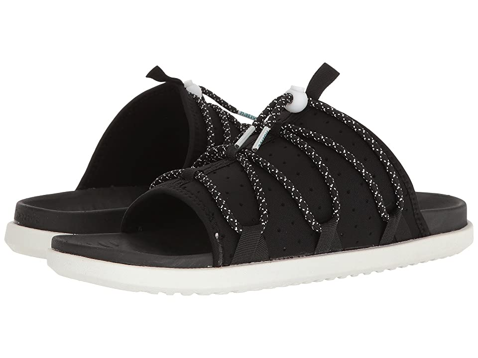 Native Shoes Palmer (Jiffy Black/Jiffy Black/Shell White) Sandals