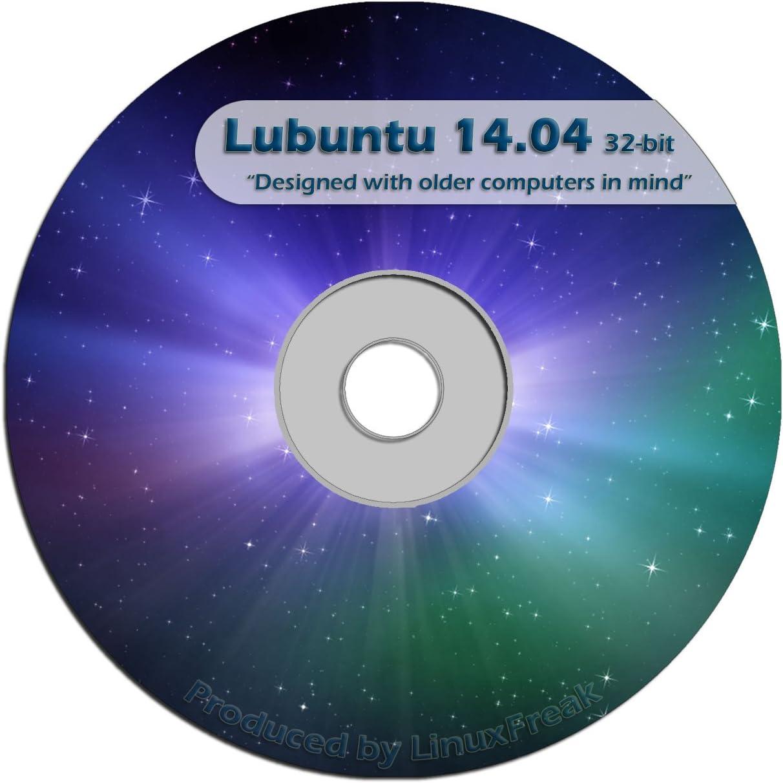 Lubuntu Linux 14.04 CD - Live Official Super Special SALE held Sale item FAST 32-bit Desktop