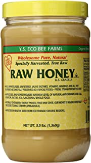 YS Eco Bee Farms RAW HONEY - Raw, Unfiltered, Unpasteurized - Kosher 3lbs