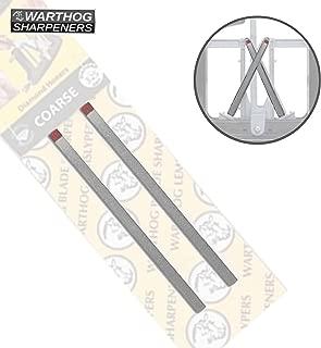 Vsharp Warthog Sharpeners Combination Diamond Honers Medium & Fine