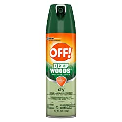 OFF! Deep Woods Insect Repellent VIII Dry, 4 oz, 1 ct