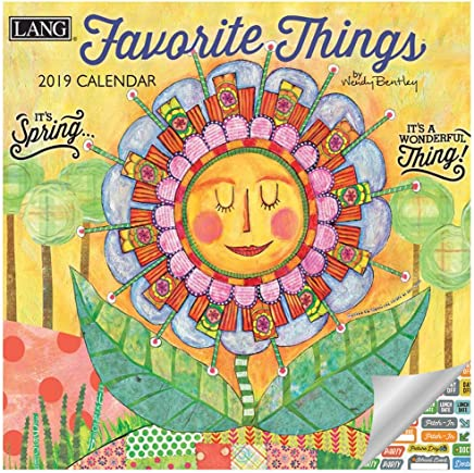 Bentley Calendar 2019 Amazon.: Lang Favorite Things Calendar 2019 Set   Deluxe 2019