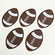 football embroidery applique