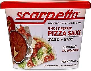 Sauces 'n Love Scarpetta Ghost Pepper Pizza Sauce, 6 Pound