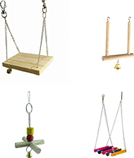 Wooden Swing Combo for Parrot Bird