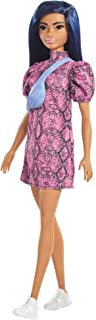 Barbie Fashionistas Doll #143, with Pink Snake Print...