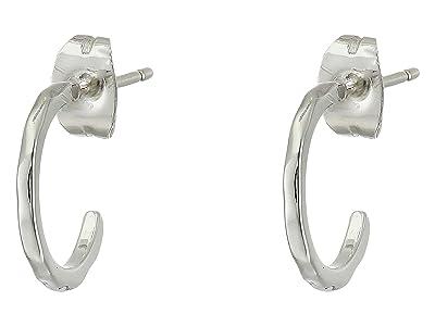 gorjana Taner Mini Hoops (Silver) Earring