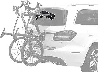 SeaSucker Mini Bomber Two Bike Rack for Cars USA Made Racks SUV, Sedan, Hatchback, RV, BMW, Honda, Tesla, Mazda and Every Other Car No Hitch Mount, Full Safety, Zero Damage, Travel Friendly Carrier