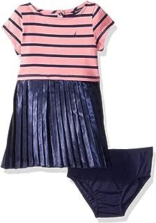Nautica Girls Short Sleeve Fashion Dress,