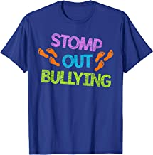 Stomp Out Bullying Anti Bully Equality Novelty T-Shirt