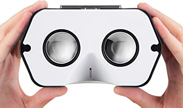 DSCVR VR Headset   The Best Virtual Reality Goggles for iPhone and Android   Google Cardboard v2 Inspired   Cool and Unique Travel Gift Under 25 Dollars