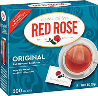 Red RoseTea Bags, 100-Count