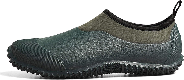 TENGTA Unisex Waterproof Garden Shoes Louisville-Jefferson County Mall Max 61% OFF Rain Boots Car Mens Womens