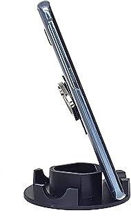 Suporte de Mesa para Celular ou Tablet serve em todos os aparelhos - Modelo Redondo (Preta)