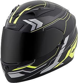 ScorpionExo EXO-R710 Unisex-Adult Full-Face-Style Transect Helmet (Hi-Viz, Large)