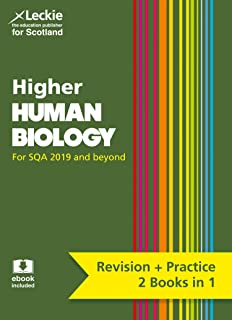 Complete Revision and Practice SQA Exams – Higher Human Biology Complete Revision and Practice: Revise Curriculum for Excellence SQA Exams
