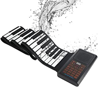 88 Keys Roll-up Piano Portable Electronic Piano for Kids,P