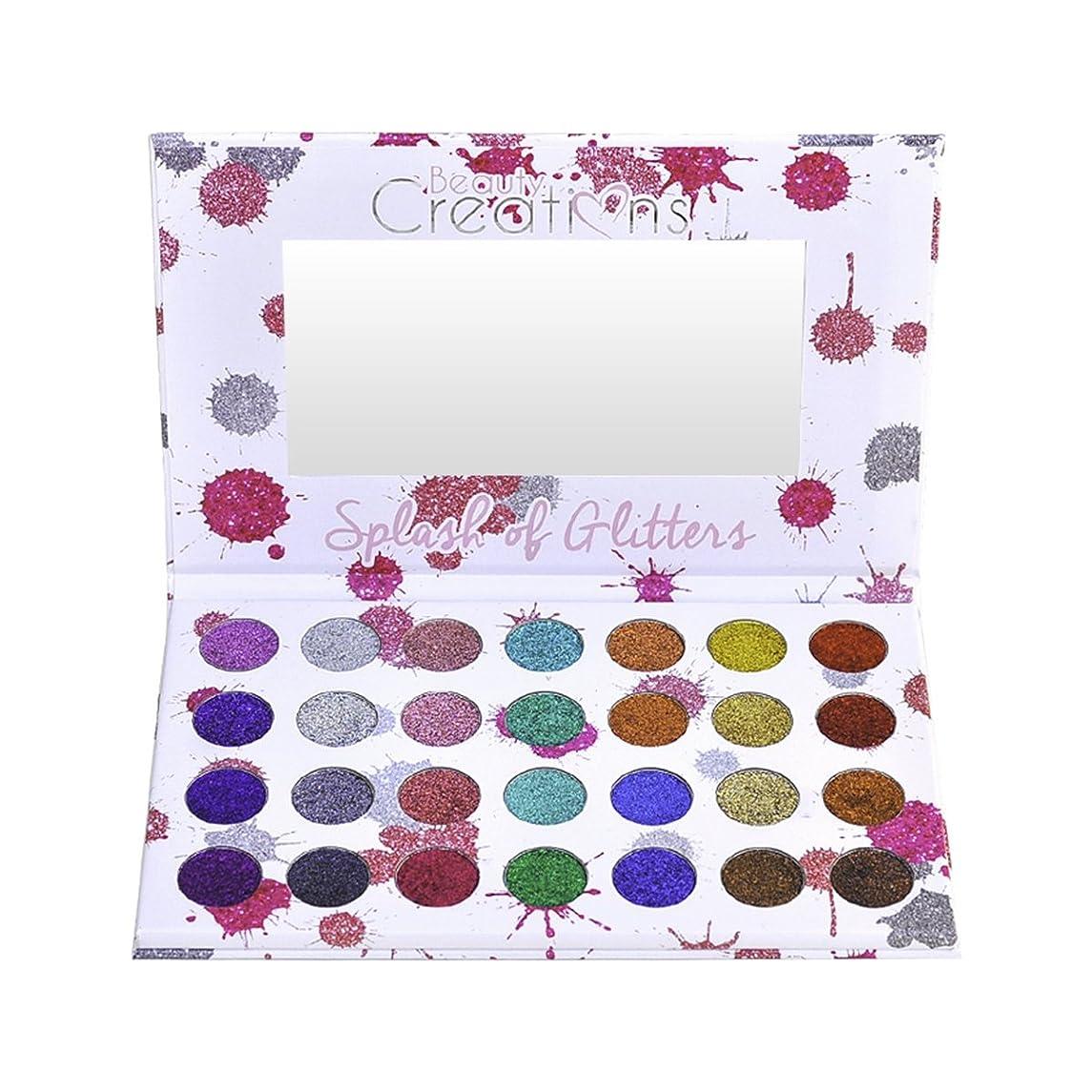 前にセッション正しく(3 Pack) BEAUTY CREATIONS Splash of Glitters Palette (並行輸入品)