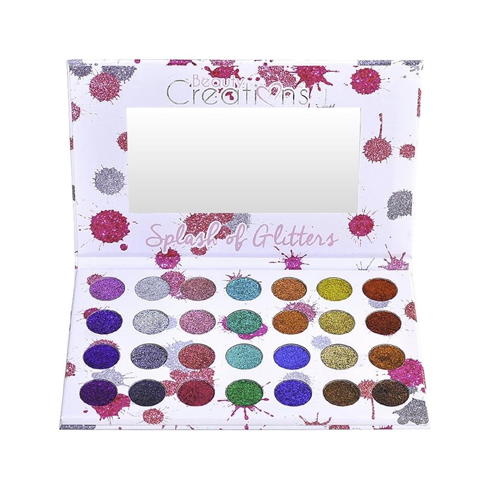 成功したまばたきゆでる(6 Pack) BEAUTY CREATIONS Splash of Glitters Palette (並行輸入品)