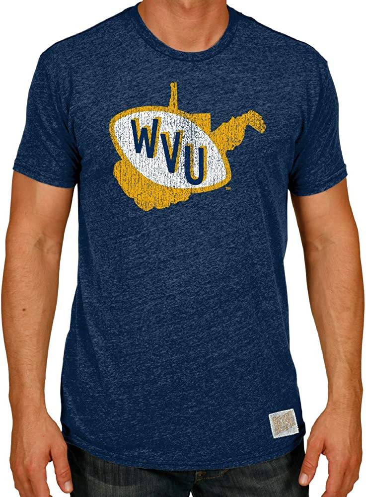 Elite Fan Shop NCAA Men's 日本限定 Tri Blend Retro Team T 世界の人気ブランド Shirt Color