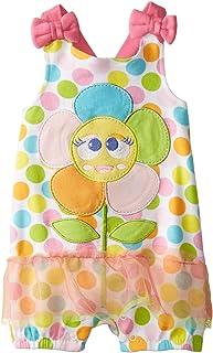 Nuby Girls Newborn Sun Suit Baby Flower