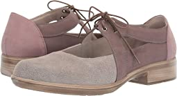 Speckled Beige Leather/Shiitake Nubuck/Mauve Nubuck