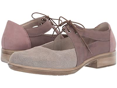 Naot Alisio (Speckled Beige Leather/Shiitake Nubuck/Mauve Nubuck) Women