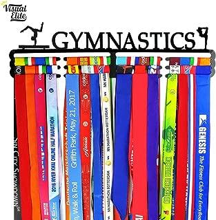 Visual Elite | Gymnastics | Medal Display Hanger | Stainless Steel Design Great for Gymnastics/Gymnastic Medals | The Medal Hangers Collection