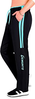 GEMUNTO Men's Sweatpant with Pocket Slim Fit Workout Elastic-Waist Drawsting Track Pants for Men