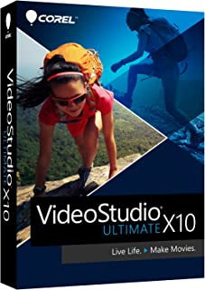 Corel VideoStudio Ultimate X10 Video Editing Suite for PC (Old Version)