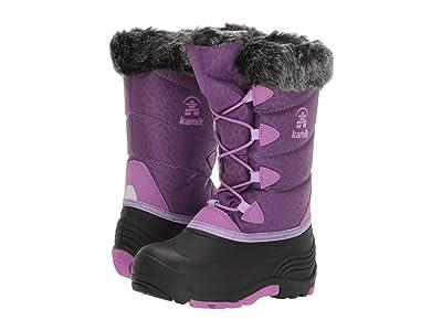 Kamik Kids Snow Gypsy 3 (Toddler/Little Kid/Big Kid) (Royal Purple) Girls Shoes