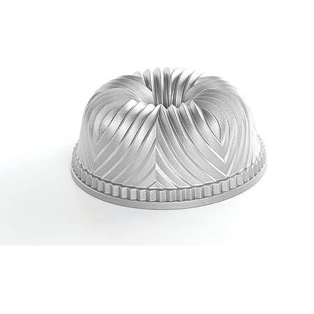 Nordic Ware Pro Cast Bavaria Bundt Pan, Silver/Grey