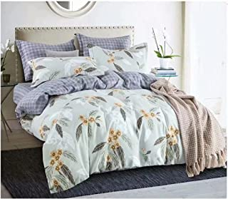 Starstorm_6 Pieces King Size Fitted Bed Sheet Set
