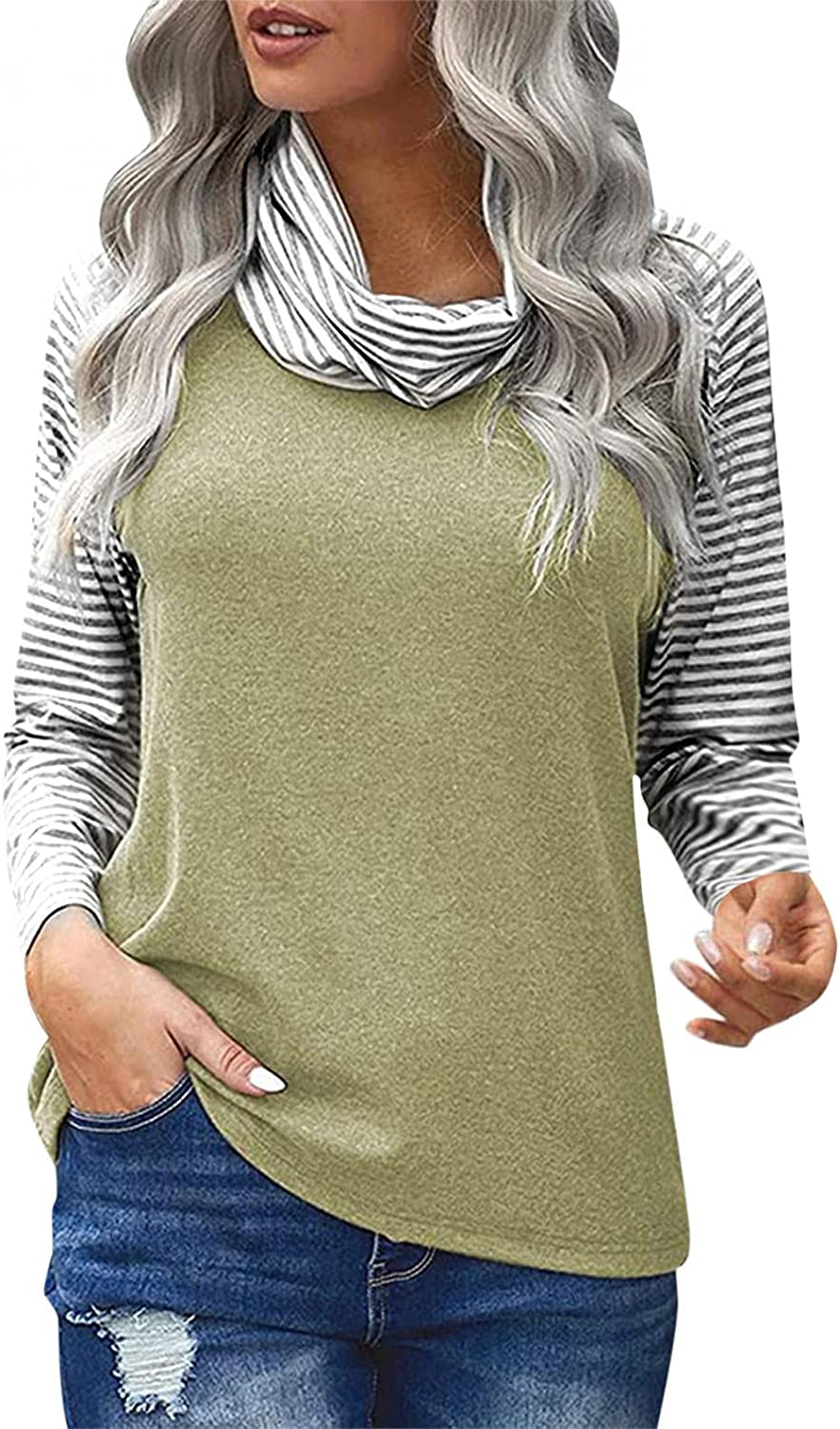 Nyybw price Womens Turtle Neck Long Tops Casual Str Sleeve Outlet ☆ Free Shipping