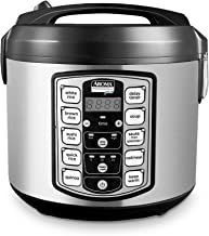 Aroma Housewares ARC-5000SB Digital Rice, Food Steamer, Slow, Grain Cooker, Stainless..