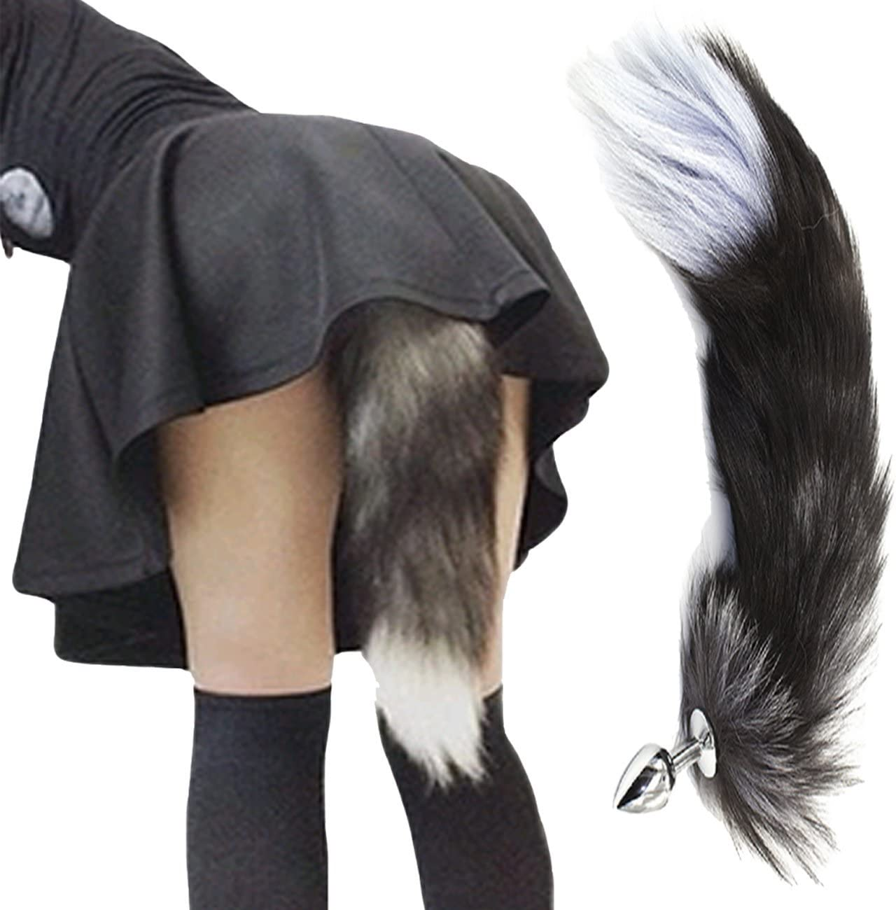 Girl With Butt Plug Tail