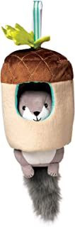 Manhattan Toy Lullaby Squirrel Pull Musical Crib and Baby Toy