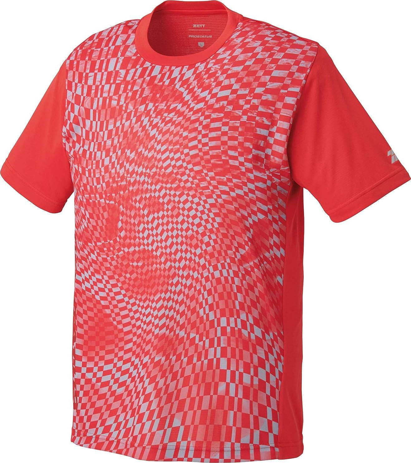 群集微妙なすゼット(ZETT) 野球 プロステイタス 昇華半袖Tシャツ BOT623T1