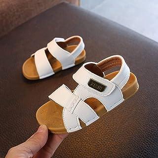 2021 Estate Open Toed Sandali, Soft-soled Pantofole, Bambini Scarpe da Spiaggia, Ragazzi Sandali, Cucitura Semplice Baby B...